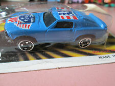 Motor Force American Sports SWEET! Blue #3 Ford Mustang Fastback Car - NOC