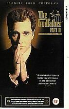 The Godfather - Part III (VHS 1997) LARGE BOX VHS/Directors cut version