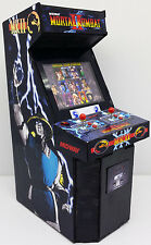 MINI MORTAL KOMBAT II ARCADE MACHINE MODEL 1/12TH SCALE (6 INCHES)