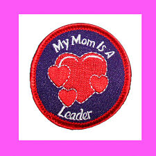 MY MOM is a LEADER Patch, GIRL SCOUT Appreciation or Thank You Special GIFT