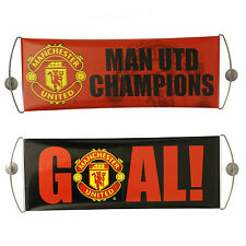 Manchester United Goal Double Sided Rolling Fan Banner Car Window Hanging Man U