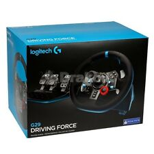 Logitech G29 Driving Force Volante PS4, PS3 e PC, Nero Nuovo Sigillato!