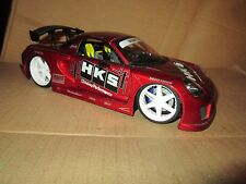 Toyota MR 2 Jada Import Racer 1/18 Scale tuners street Racing loose display