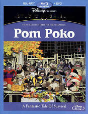 Pom Poko (BLU-RAY COMBO PACK, 2015) NEW/SEALED - no slipcover