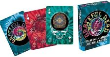 THE GRATEFUL DEAD TIE DYE OFFICIAL POKER SIZE PLAYING CARDS DECK NEW