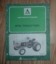 ALLIS CHALMERS 616 TRACTOR OWNERS MANUAL NO. TM-7126