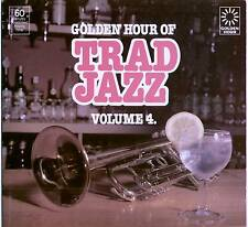 GOLDEN HOUR OF TRAD JAZZ VOLUME 4 ~ VARIOUS ARTISTS ~ 1978 UK 20-TRACK LP RECORD