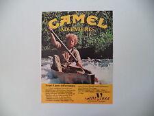 advertising Pubblicità 1984 CAMEL ADVENTURES