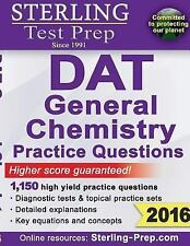 Sterling DAT General Chemistry 1,800+ Practice Questions : High Yield DAT Quest…