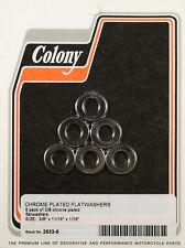 """Flat Washer 3/8"""" x 11/16"""" x 1/16"""" Chrome Colony 2633-6"""