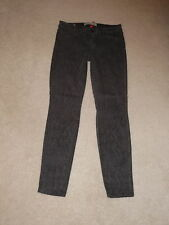 CJ COOKIE JOHNSON BROWN MAMBA HIGHER RISE JOY LEGGINGS JEGGING STRETCH JEANS 27