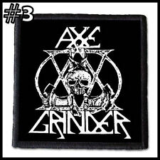 AXEGRINDER   --- Patch / Aufnäher --- Various Designs /satanic royalty/
