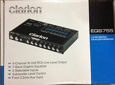 Brand New 2015 Model Clarion EQS755 7-Band Graphic Equalizer LOW $$