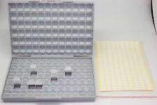 Empty BOX-ALL enclosures SMD SMT resistor capacitor Organizer 0805 0603 0402 lid