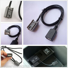 USB Female Cable AUX Adaptor Port For 2008 Onwards Honda/Civic/CR-V/ Accord/Fit
