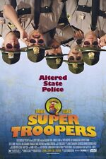 Super Troopers Original Movie Poster Double Sided 27x40 inches