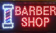 Hairdressers Barber Pole Salon Hair Cut Led Flashing Shop Sign Signs Kids Adults