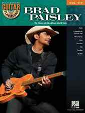 """BRAD PAISLEY"" GUITAR PLAY-ALONG VOLUME #117 W/TAB MUSIC BOOK-CD BRAND NEW SALE!"