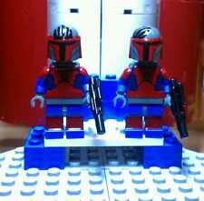 Lego Star Wars Darth Maul Mandolorian Super Commando Custom Figures