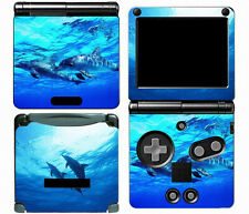 Dolphins 012 Vinyl Decal Skin Cover Sticker for Game Boy Advance GBA SP