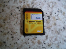 GENUINE FORD SAT NAV NAVIGATION SD CARD V2.5 WESTERN EUROPE MONDEO FOCUS L@@K