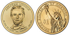 2010 D GOLD ABRAHAM LINCOLN PRESIDENTIAL DOLLAR (one) COIN of $1 COIN