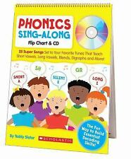 Sing-along Flip Chart and CD: Phonics Sing-Along : 25 Super Songs Set to Your...