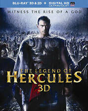 NEW/SEALED The Legend of Hercules 3D/2D Blu-ray + Digital HD Ultraviolet