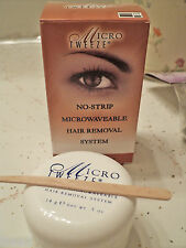Micro-Tweeze    MICROWAVEABLE Hair removal System (NO STRIPS NEEDED)  .5 oz.