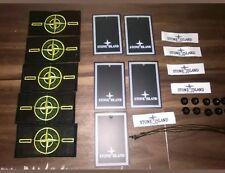 5 STONE ISLAND badge patch con 10 PULSANTI