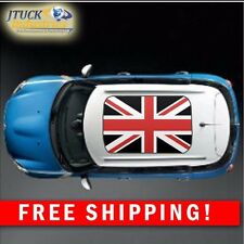 MINI Cooper UK RED-BLACK Flag Roof Decal Graphic New style