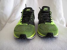 Nike Flyknit Racer 526628721 Volt Black/Sequoia, size US 9,5 RARE 2012