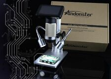 Andonstar HDMI USB Digital Microscope Long working distance PCB soldering repair