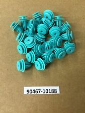 QTY 25: Green Toyota Replacement Trim Panel Retainer Clips 90467-10188