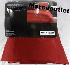 HOTEL COLLECTION Frame Lacquer FULL / QUEEN Duvet Cover Red