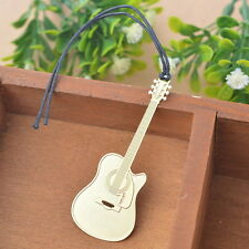 2PC Bookmarks Guitar Chic Reading Gift Office Supplies Exquisite Art Craft