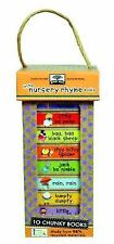Green start book towers: little nursery rhymes (10 Chunky Books Made from 98%...