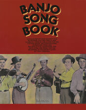 Banjo Song Book Tony Trischka 5-String Banjo TAB Music Book