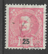 King Carlos Portugal 1898 Used - red