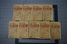 Lot of 9 Kadee HO scale No.5,Two pair with draft gear MAGNE-MATIC COUPLERS