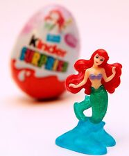 Ariel KINDER Surprise giocattolo Disney Egg Princess Mermaid Figura Little cake topper