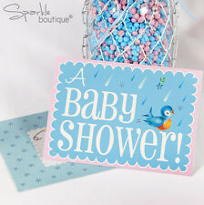 Baby Shower INVITES -Unisex Party Invitations- FULL BABY ON BOARD RANGE IN SHOP!