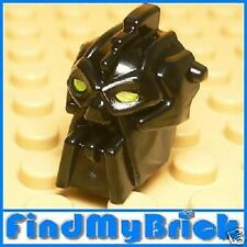 H503A Lego Bionicle Mini Inika Toa Nuparu Head - Black