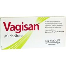 Vagisan Lactic Acid Support x7Restores Normal PH and to support the vaginal flor