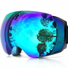 ZIONOR Lagopus X4 Ski Snowboard Snowmobile Goggles with Magnet Fast Lens