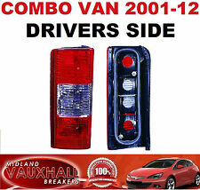 COMBO VAN REAR BACK TAIL LIGHT LAMP DRIVERS OFF RIGHT HAND SIDE DI CDTI