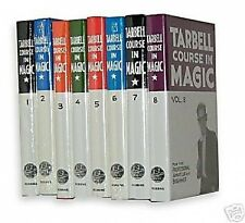 NEW TARBELL COMPLETE COURSE IN MAGIC 1-8 Book Trick Set Magician Learn Lessons