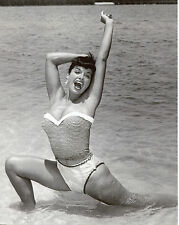 Bettie Betty Page Leggy 8x10 photo T4240