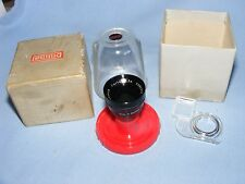 Schneider Kreuznach Curtar 0.5x Lens for Eumig Cine Camera, Boxed, Germany