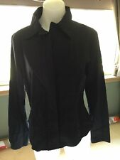 CUE Black Office Shirt Size 14